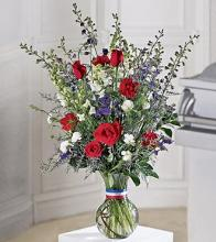 Salute to a Patriot Bouquet