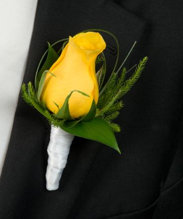 yellow Boutonnieres