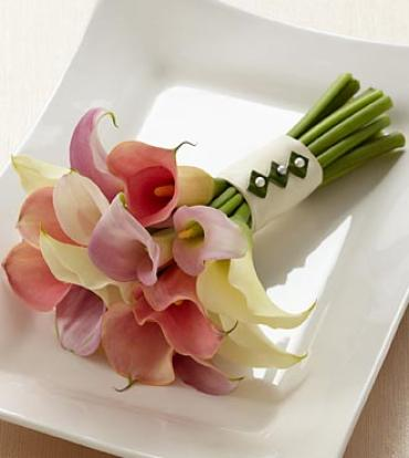 The Calla Lily Promise Bouquet